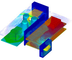Computational Fluid Dynamics Analysis �?Wind Tunnel Equipment CFD PCB Bespoke Assembly Machine