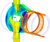 Computational fluid dynamics Turbine Inlet Test Rig Turbomachinery Analysis